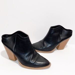 DV by Dolce Vita Black Lori Mules with heel 7.5